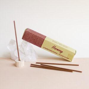 indyjskie kadzidła bez bambusa harmony