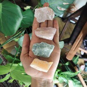 zestaw kryształów