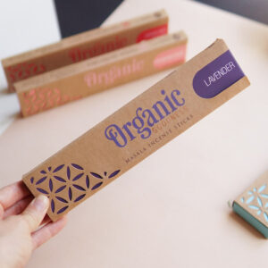kadzidełka organic lawenda
